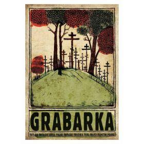 Kartka pocztowa - Grabarka (Polska Szkoła Plakatu, Ryszard Kaja)