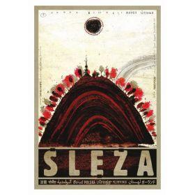 Kartka pocztowa - Ślęża (Polska Szkoła Plakatu, Ryszard Kaja)