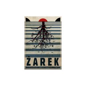 Kartka pocztowa - Żarek (Polska Szkoła Plakatu, Ryszard Kaja)