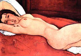 Amadeo Modigliani - Nude - magnes