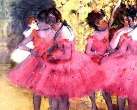 Edgar Degas - Tancerki między scenami - magnes