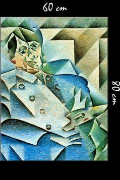 W hołdzie Picassowi Juan Gris - reprodukcja