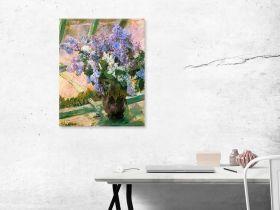 Mary Cassatt Flowers In The Window