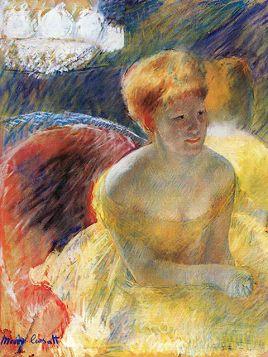 Mary Cassatt Lydia