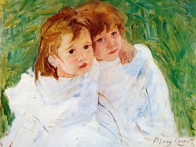 Mary Cassatt TheSisters