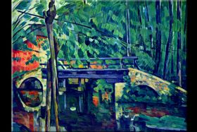 Cezanne Bridge In The Forest