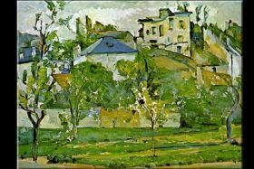 Cezanne Fruit Garden In Pontoise