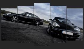 Czarne Porsche 911 GT3 996