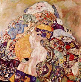 Dziecko - Gustaw Klimt - reprodukcja