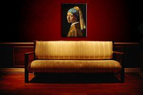 Dziewczyna z perłą Johannes Vermeer - reprodukcja obrazu