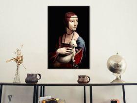 Dama z łasiczką Leonardo Da Vinci - reprodukcja