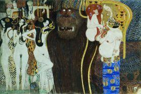 Fryz Beethovena - Gustav Klimt - reprodukcja