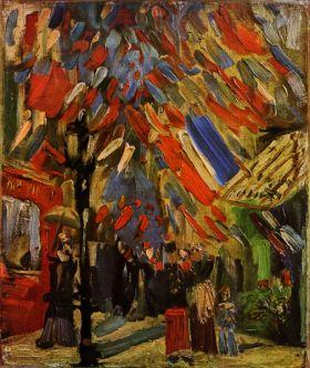 Van Gogh - 14 July in Paris