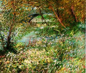 Van Gogh - Banks of the Seine with Pont de Clichy in the Spring