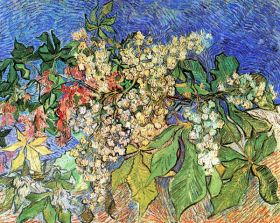 Van Gogh - Blossoming Chestnut Branches