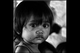 Dziewczynka z Kambodży