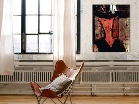 Dama w kapeluszu - Amedeo Modigliani - reprodukcja