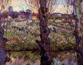 Van Gogh - Orchard in Blossom with View of Arles