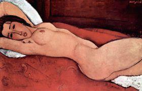 Akt - Amedeo Modigliani - reprodukcja