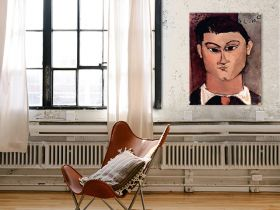 Portret Moiise Kieslinga - Amedeo Modigliani - reprodukcja