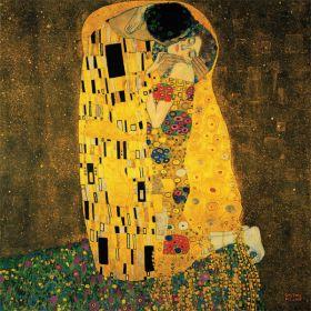 Pocałunek - Gustav Klimt - reprodukcja