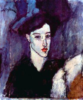 Żydówka - Amedeo Modigliani - reprodukcja