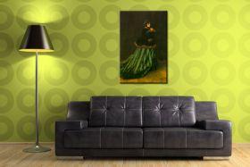 Claude Monet - Kobieta w zielonej sukience