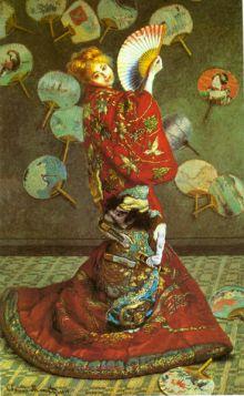 Claude Monet - Japonka