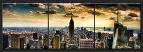 Panorama Nowego Jorku w technice HDR