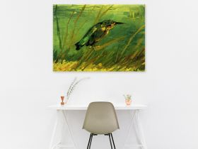 Zimorodek nad wodą van Gogh - reprodukcja