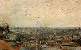 Van Gogh - View of paris from Montmarte