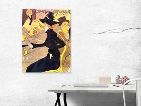 Diva Japonais by Toulouse-Lautrec