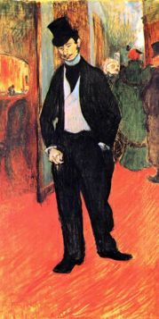 Dr. Tapia de Celeyran by Toulouse-Lautrec