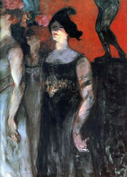 Messalina by Toulouse-Lautrec