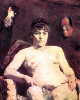Nude by Toulouse-Lautrec