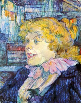 Portrait of Miss Dolly by Toulouse-Lautrec