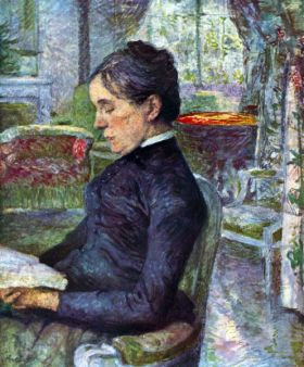 Portrait of the Countess by Toulouse-Lautrec
