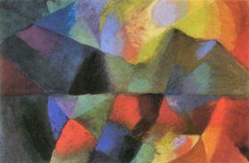 Kolory - August Macke  - reprodukcja