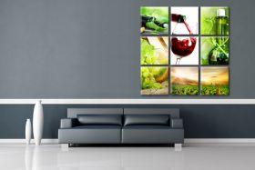 Obrazy  Wino z  Bordeaux, Francja