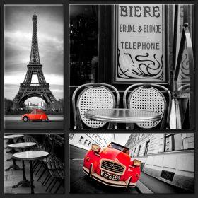 Kolaż - Paryż