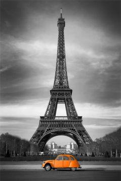 Paryż, Eiffla i Citroen 2cv