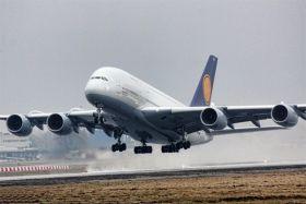 Samolot Airbus A380-800 - zdjęcie