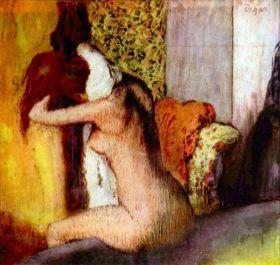 Po kąpieli - Edgar Degas - reprodukcja