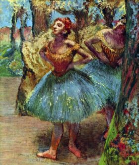 Ballerina  - Edgar Degas - reprodukcja
