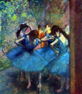 Baleriny 2  - Edgar Degas - reprodukcja