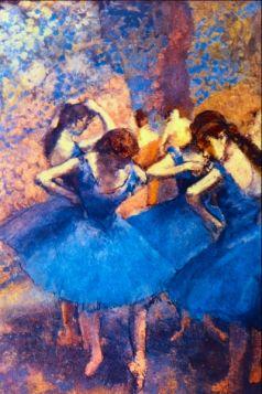 Baleriny - Edgar Degas - reprodukcja