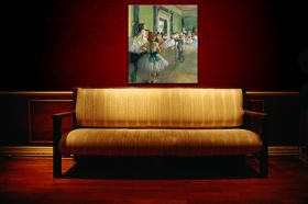 Lekcja baletu - Edgar Degas - reprodukcja