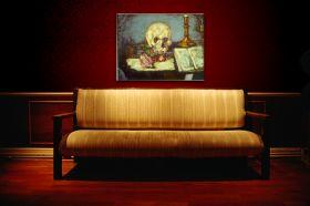 Czaszka - Edgar Degas - reprodukcja