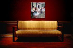 Klasa taneczna - Edgar Degas - reprodukcja