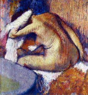 Kobieta po kąpieli - Edgar Degas - reprodukcja